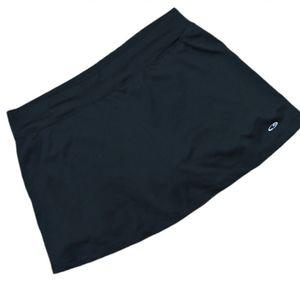 Champion workout shorts with skirt size Medium